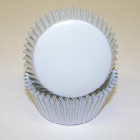 Standard Foil Baking Cups - White - 500ct