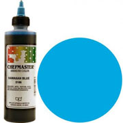 Chefmaster Airbrush Color 8oz - Hawiian Blue