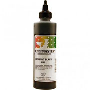 Chefmaster Airbrush Color 8oz - Midnight Black