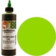 Chefmaster Airbrush Color 8oz - Neon Brite Green