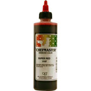 Chefmaster Airbrush Color 8oz - Super Red