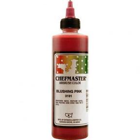 Chefmaster Airbrush Color 8oz - Blushing Pink