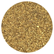SUGAR CRYSTALS - 4 OZ - PEARLIZED GOLD