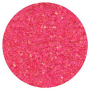 SUGAR CRYSTALS - 16 OZ - PINK