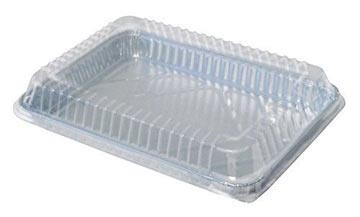 "Disposable Foil Pan with Lid - 9""x13"" - qty 100"