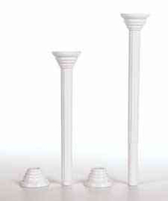 Wilton - Disposable Pillars - 9""
