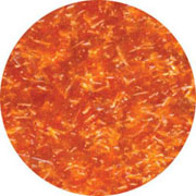 EDIBLE GLITTER 1/4 OZ - ORANGE