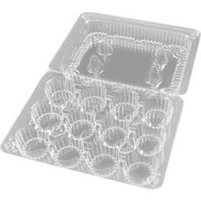 Mini Cupcake Containers - 12 count - qty 1