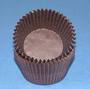 Standard Glassine Baking Cups - Brown - 500ct