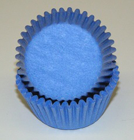 Standard Glassine Baking Cups - Light Blue - 500ct