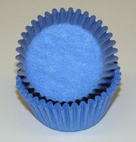 Standard Glassine Baking Cups - Light Blue - 30ct