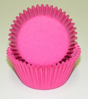 Standard Glassine Baking Cups - Pink - 30ct