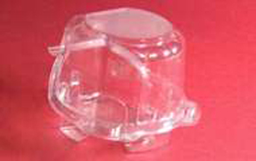 Single Cupcake Container - Low - qty 1