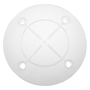 Twist & Lock Separator Plate - Clear - 12""