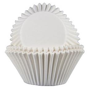Jumbo Glassine Baking Cups - White - 500ct
