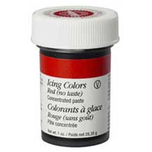 Wilton® Icing Colors - Red No-taste