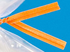 Orange Twist Ties