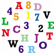 FMM CAPITAL LETTERS & NUMBERS TAPPIT