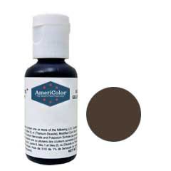 Americolor - Soft Gel Paste - 0.75oz - Espresso