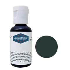 Americolor - Soft Gel Paste - 0.75oz - Gun metal