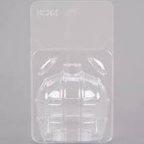 Clear Apple Container - Large - qty 1