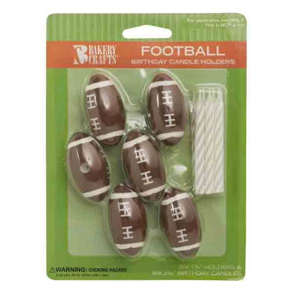 FOOTBALL CANDLES