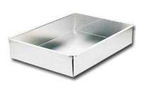 "Commercial Sheet Cake Pan - 8""x11""x2"""