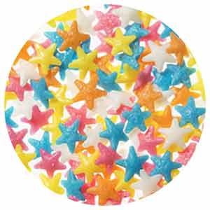 Pastel Star Confetti 4oz