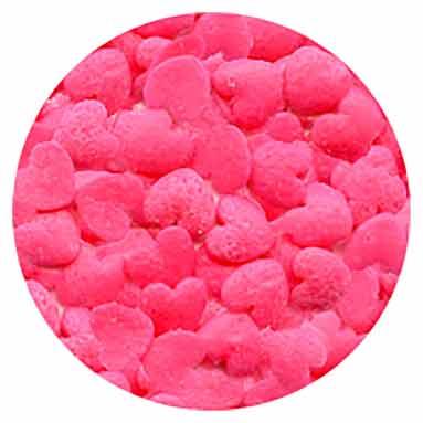Pink Heart Confetti 4oz