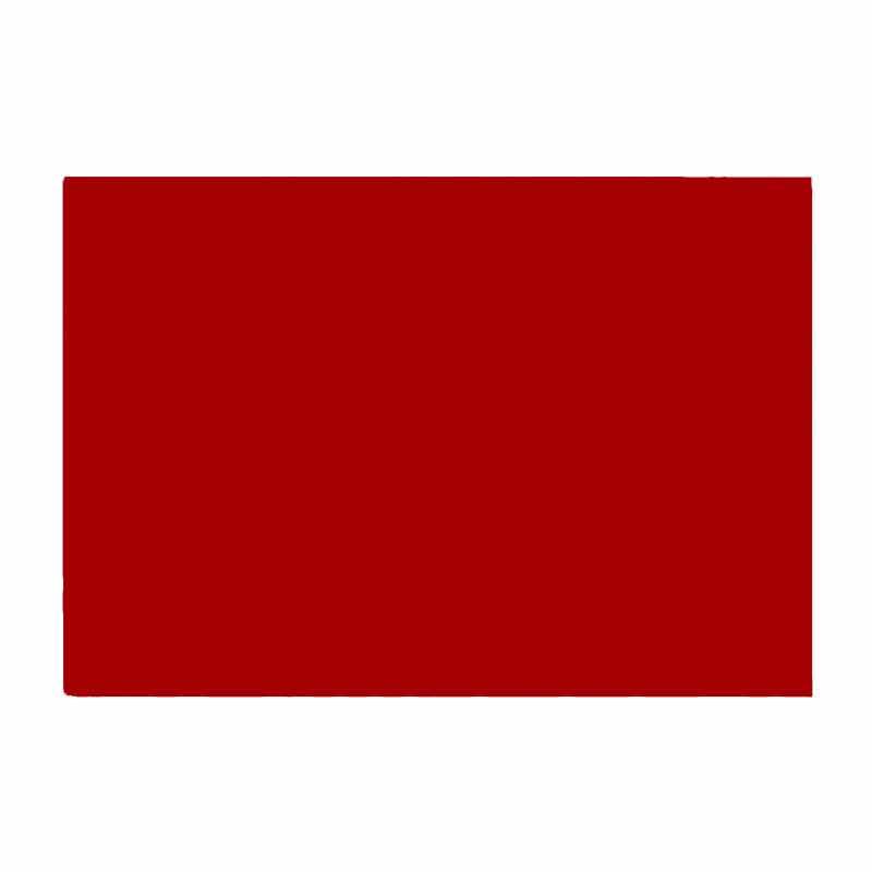 Red Half Sheet Drum