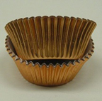 Mini Foil Baking Cups - Gold - 500ct