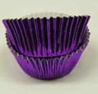 Mini Foil Baking Cups - Purple - 500ct