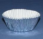 Mini Foil Baking Cups - Silver - 500ct