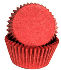 Standard Glassine Baking Cups - Red - 500ct