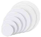 Wilton Separator Plate - Smooth Edged - 6""